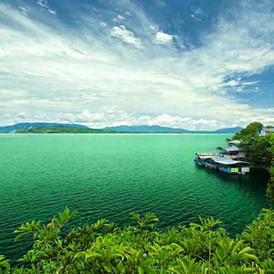 실랑잇 - 토바 호수